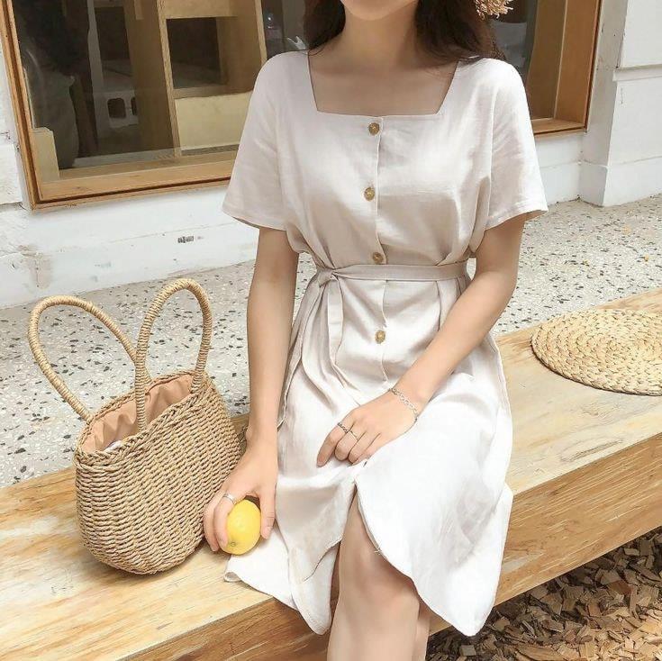 Váy trắng – Giúp nàng đẹp tinh khôi ngày nắng