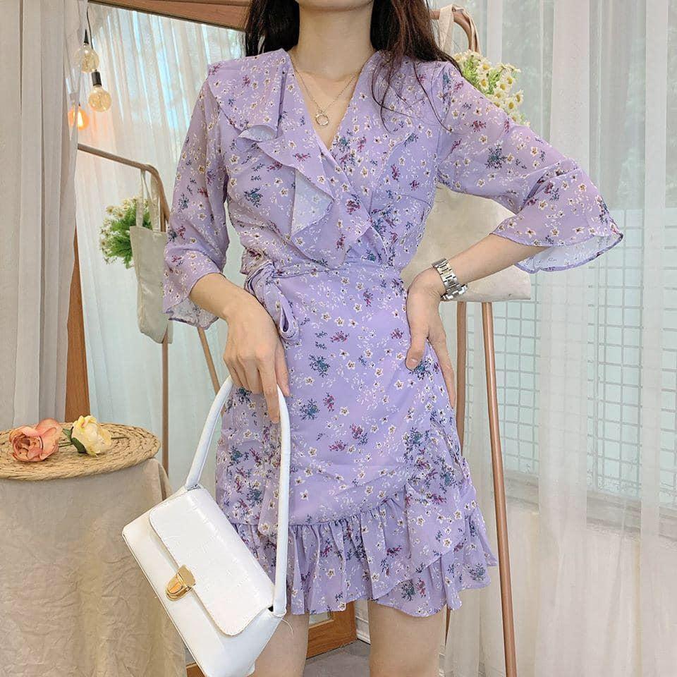 Xinh đẹp bí ẩn với những chiếc đầm gam màu tím lịm tim