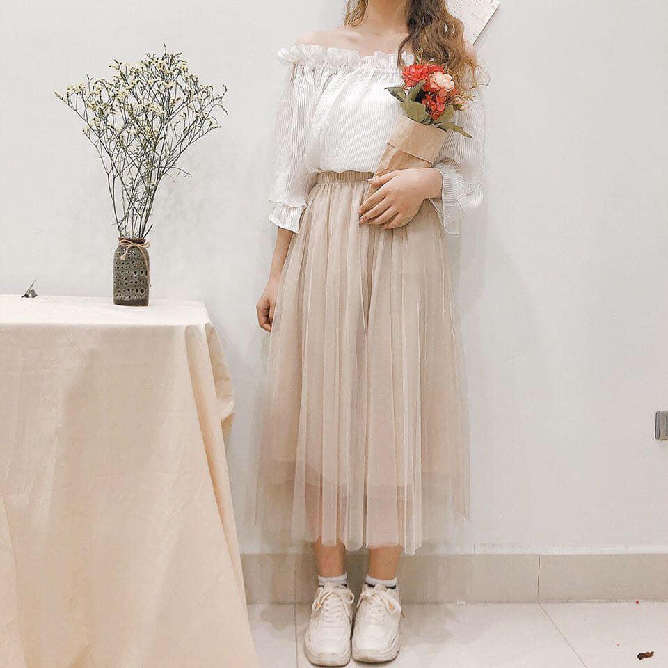 Đầm voan – item không thể thiếu trong mùa hè này của các nàng