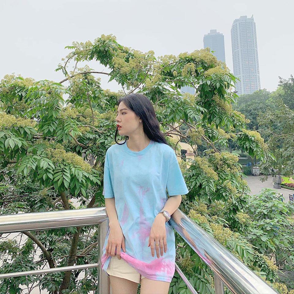 Nổi bật và trẻ trung cùng trào lưu áo phông loang size lớn - Tie dye