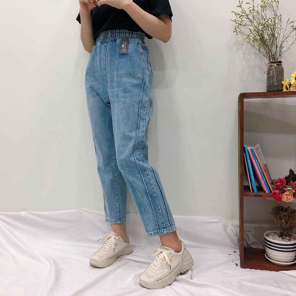 Phối đồ mùa hè với quần jeans ống suông năng động các nàng cần biết