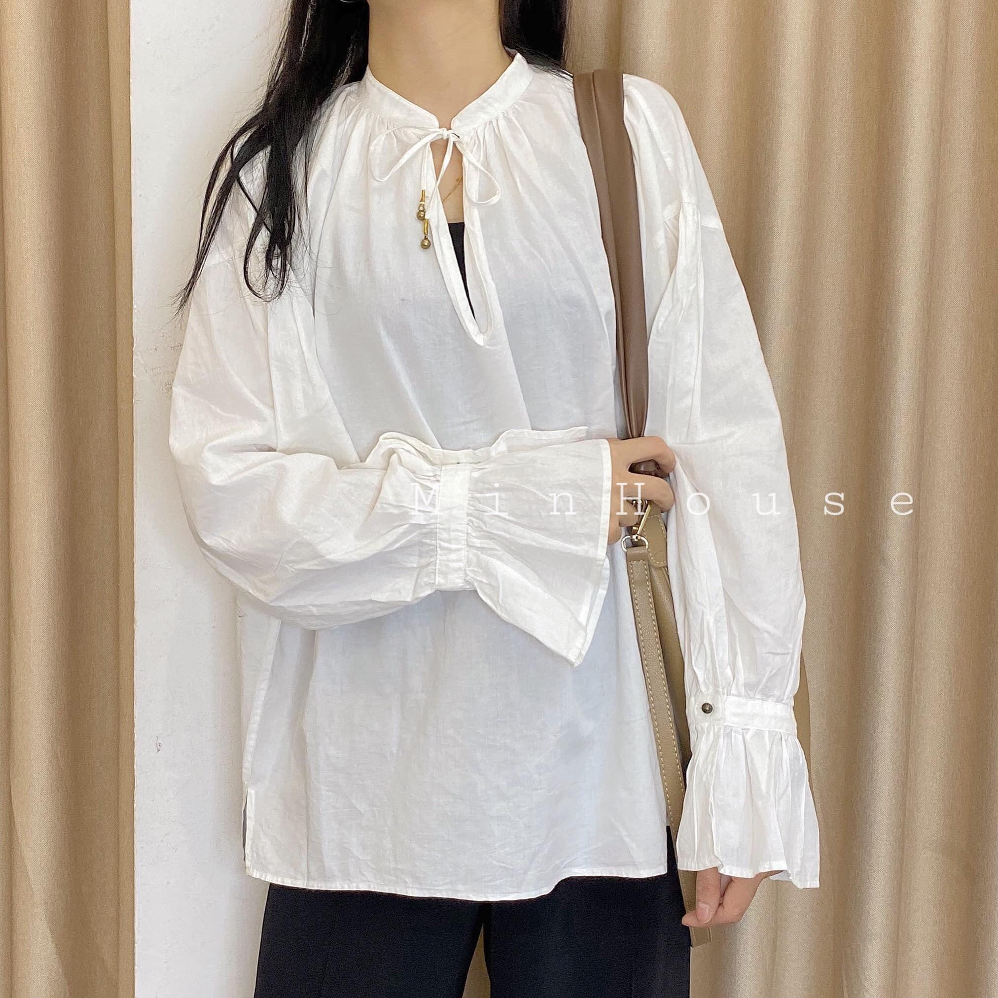 Cách mix áo sơ mi trắng nữ thật phong cách và thời trang
