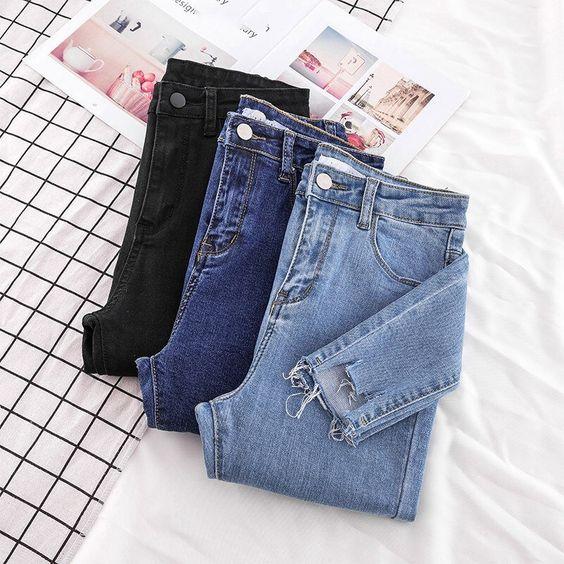 4 kiểu áo đơn giản mặc cùng quần jeans khiến các nàng xinh hết nấc
