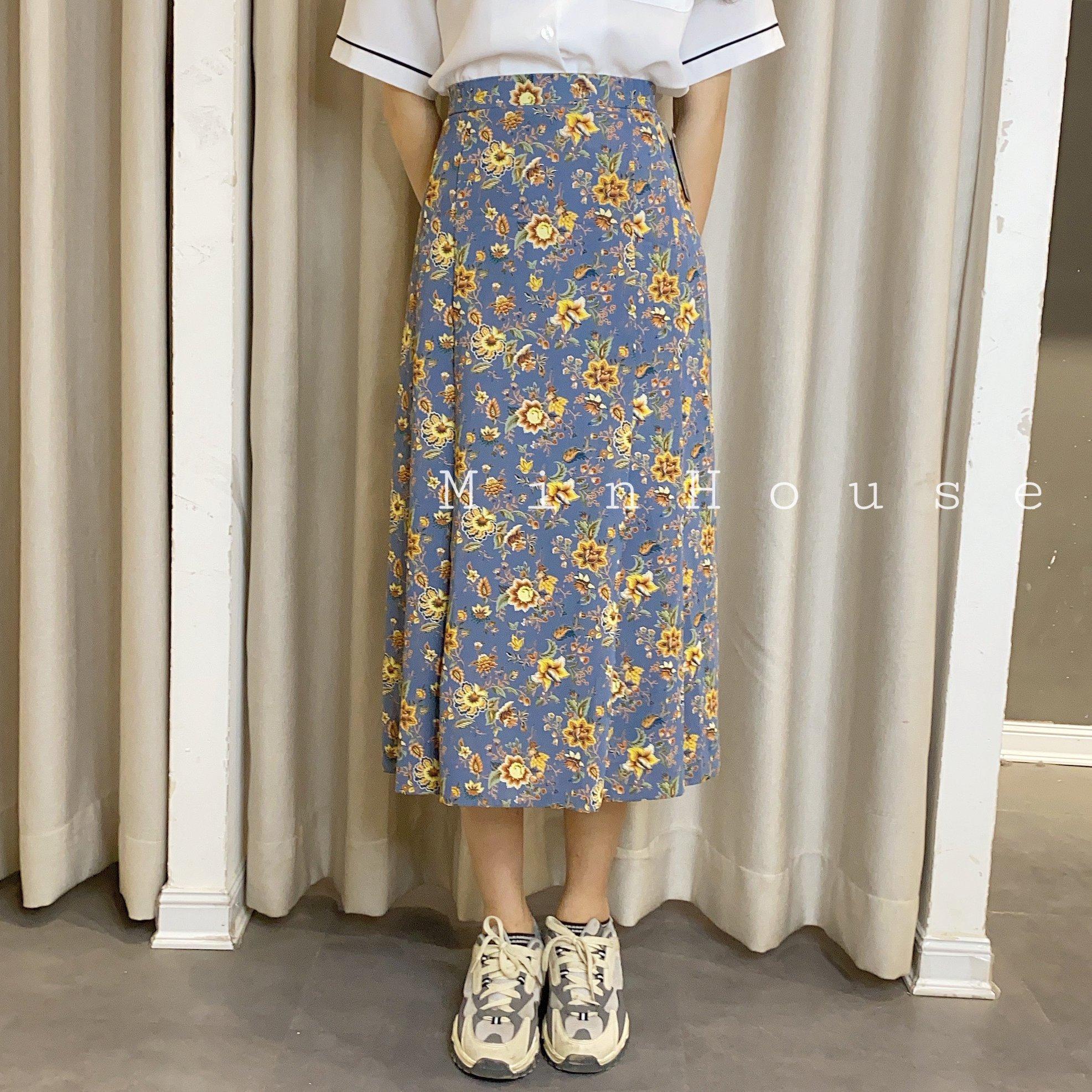 Min House gợi ý 5 cách phối đồ với chân váy hoa cho các nàng ngày hè