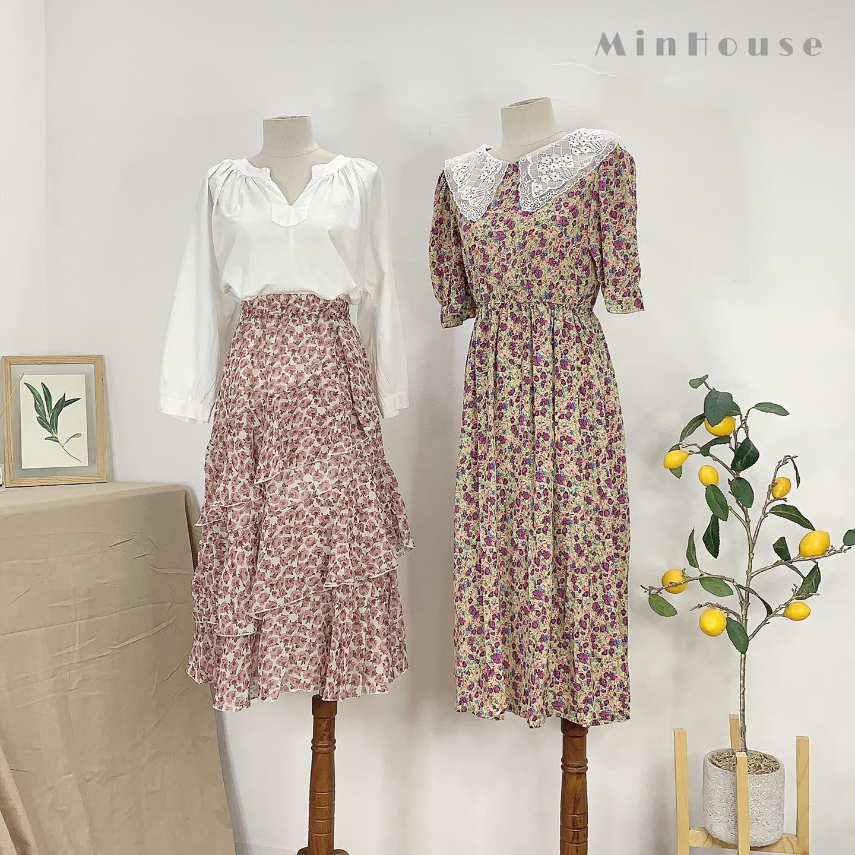 Váy hoa nhí – cơn sốt mùa hè mà các cô nàng cực mê mệt
