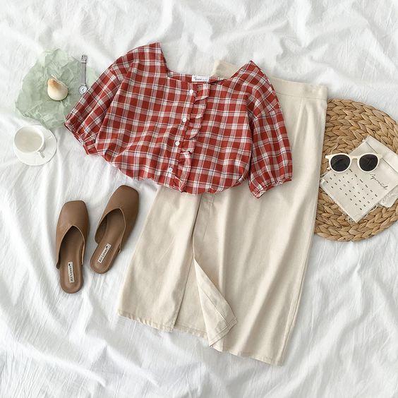 Váy Midi – Mặc sao cho thật chuẩn như phong cách sao Hàn?