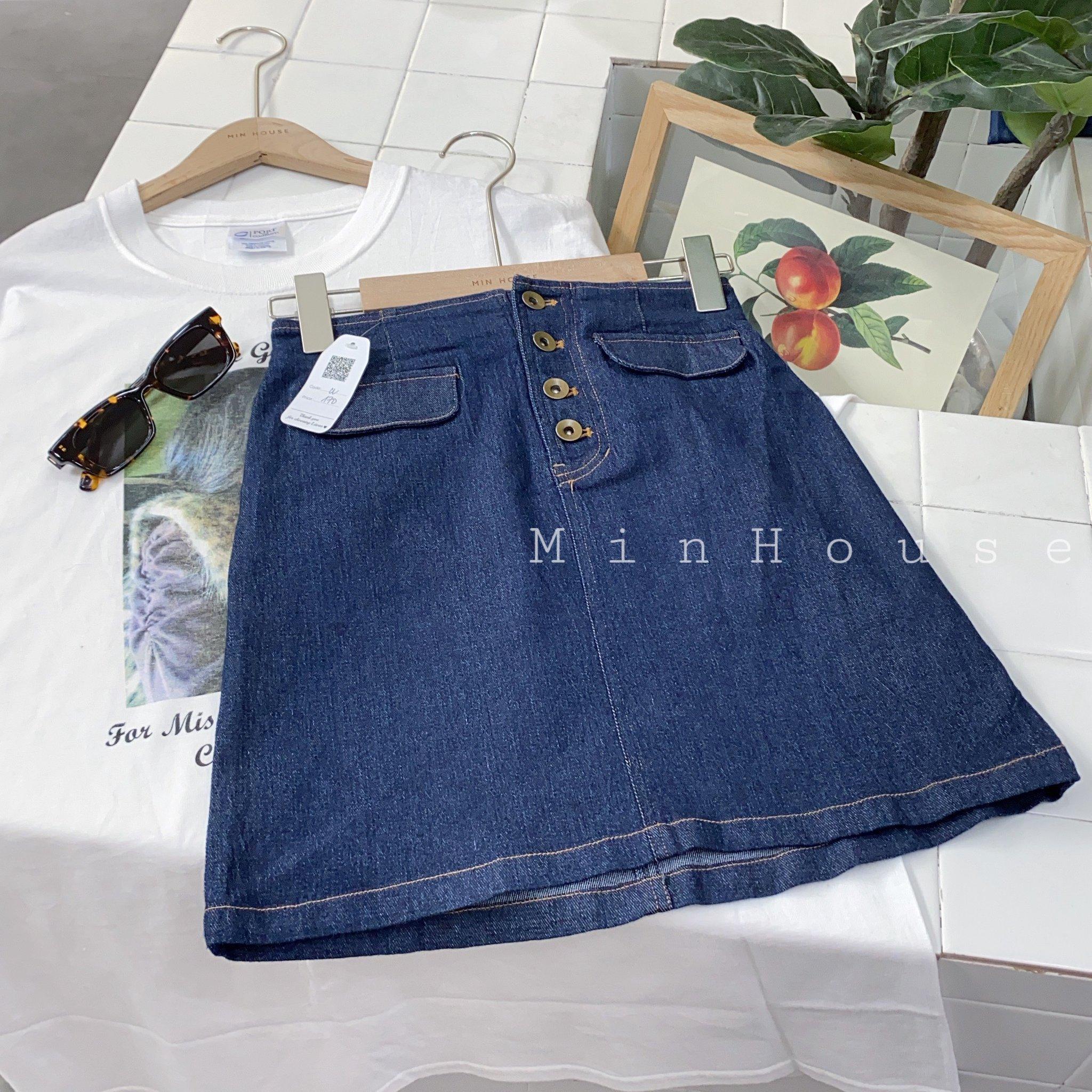 Chân váy jean siêu cá tính, năng động và trẻ trung