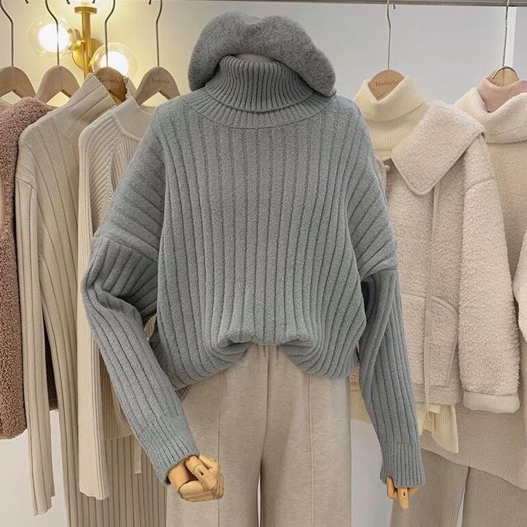 Công thức mix và match áo len: Item không thể thiếu khi đông về