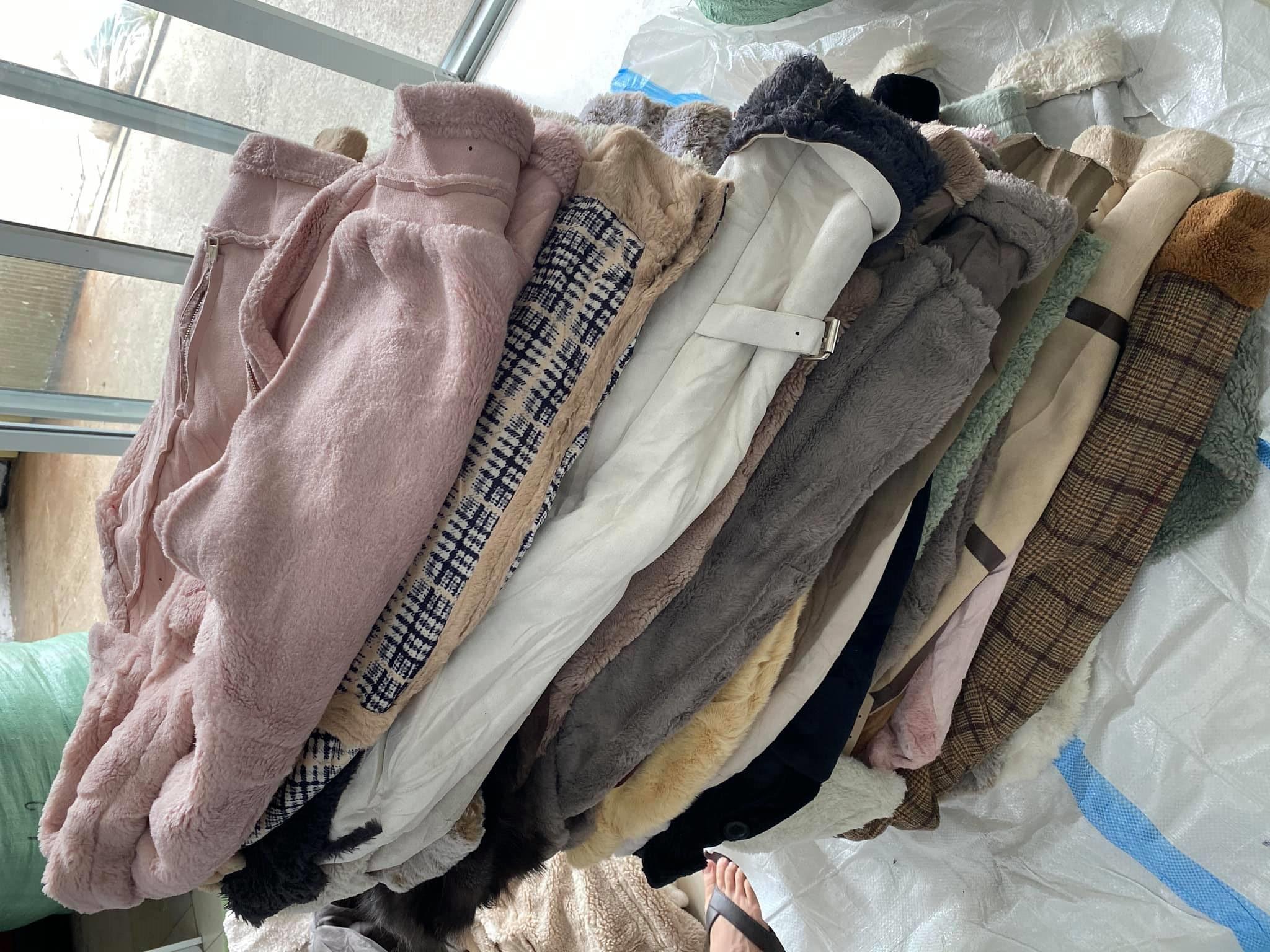 Sỉ áo da lộn hàng thùng
